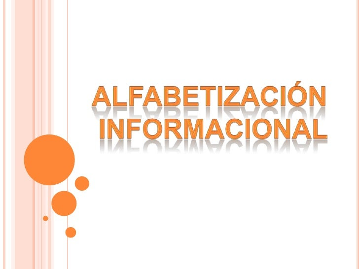 Alfabetización <br />informacional<br />