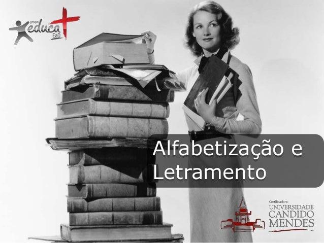 Pós-graduação em Alfabetização e Letramento - Pós Educa+ EAD
