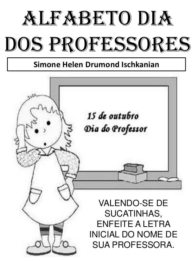Alfabeto dia dos professores