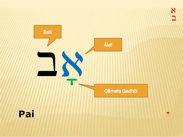Alfabeto Hebraico Pdf Alfabeto Hebraico ba a