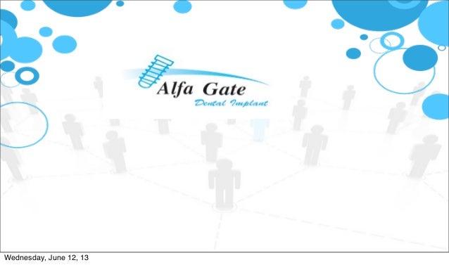 Alfa Gate presentation