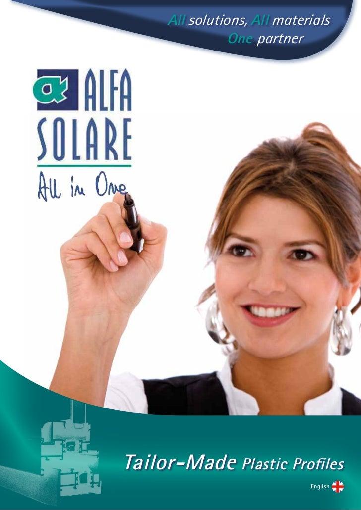 Alfa Solare Brochure Inglese X