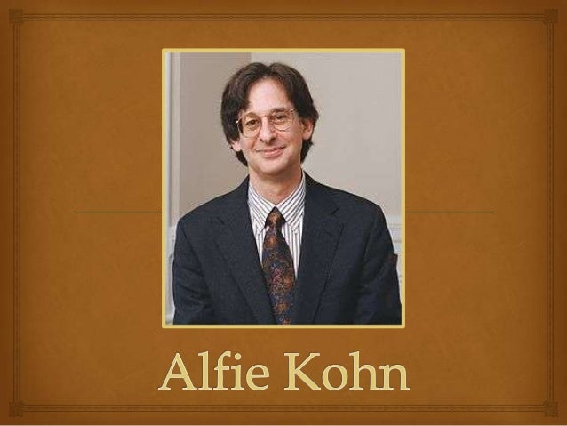 Alfie kohn homework