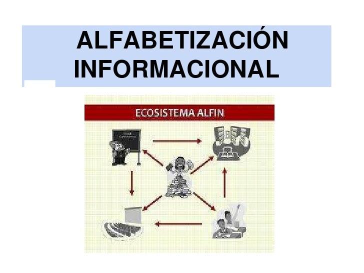 ALFABETIZACIÓNINFORMACIONAL