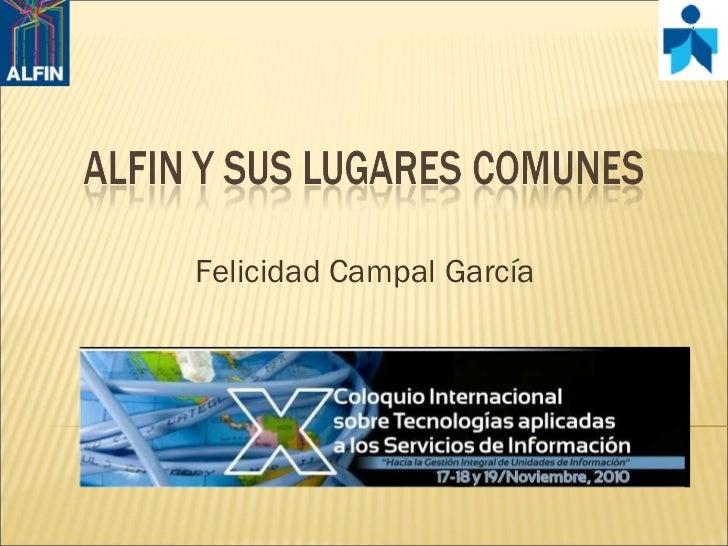 Felicidad Campal García
