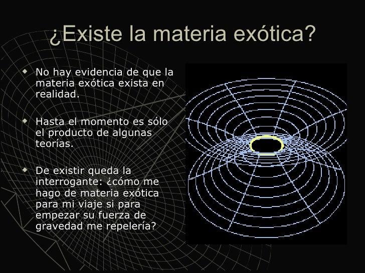 Resultado de imagen de Materia exótica