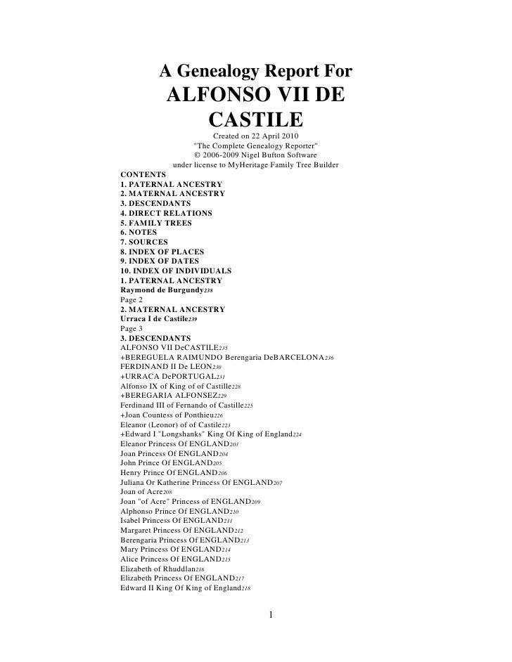 Alfonso  V I I De  Castille Publish
