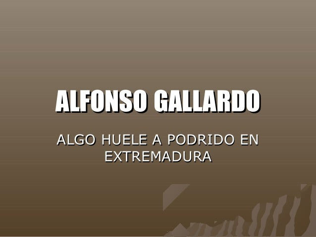 Alfonso Gallardo