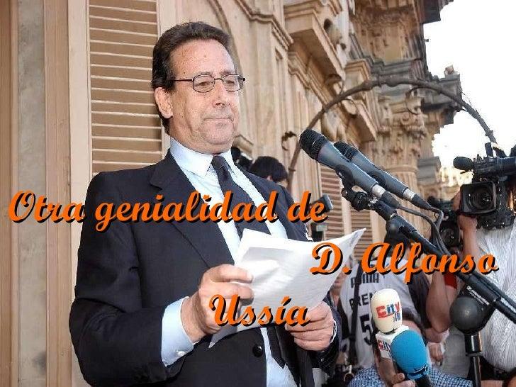 POEMA DE ALFONSO USSIA A ZAPATERO