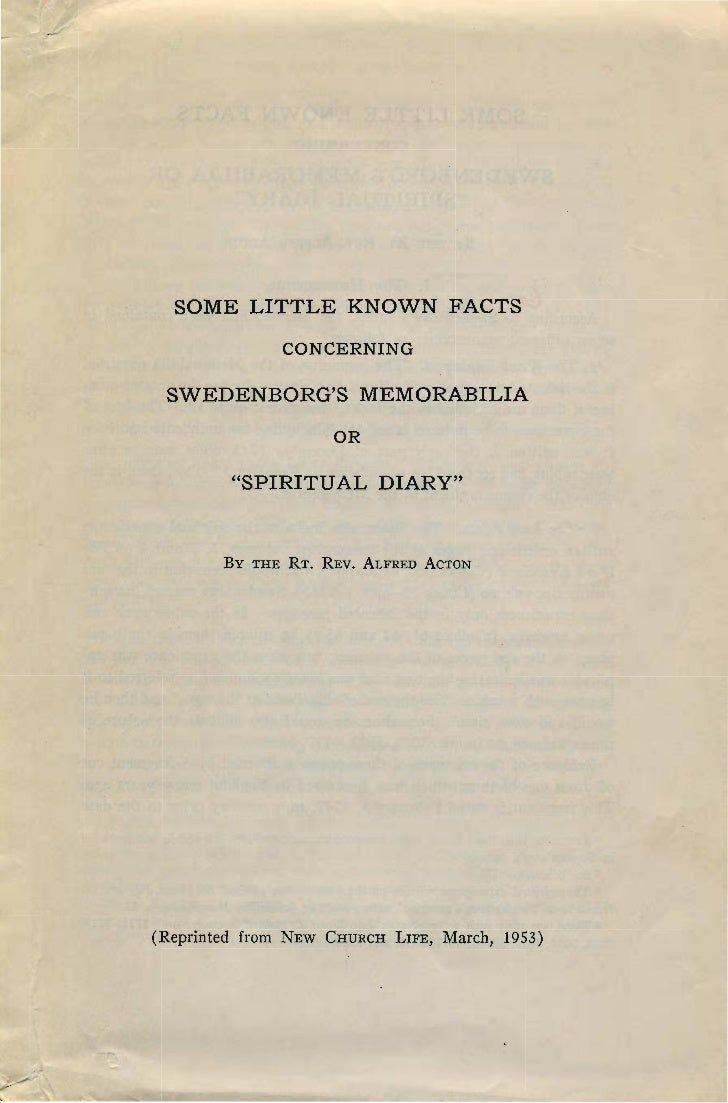 Alfred Acton-SWEDENBORG's-MEMORABILIA-some-little-known-facts-New-Church-Life-march-1953