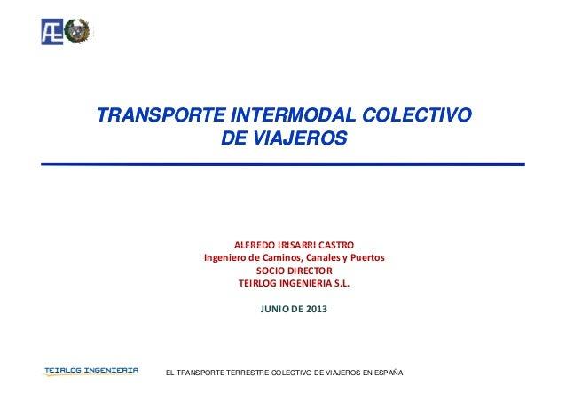 Transporte Intermodal Colectivo de Viajeros