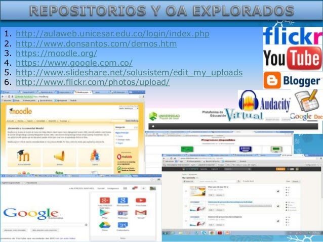 1. 2. 3. 4. 5. 6.  http://aulaweb.unicesar.edu.co/login/index.php http://www.donsantos.com/demos.htm https://moodle.org/ h...