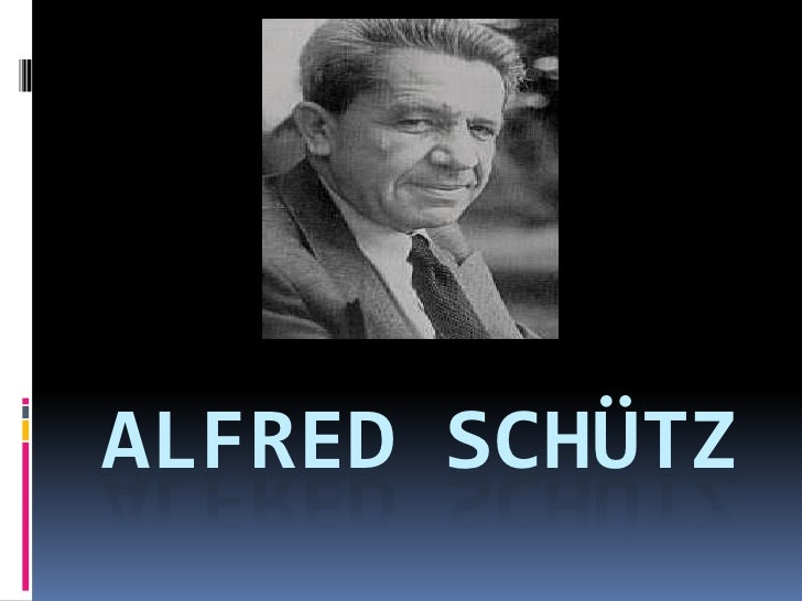 alfred schutz Genealogy for alfred schütz, drjur (1899 - 1959) family tree on geni, with over 175 million profiles of ancestors and living relatives.