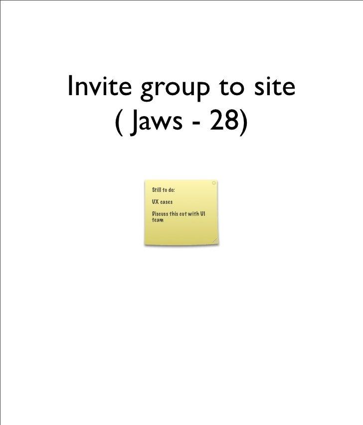 Alfresco Share - Invite Group To Site
