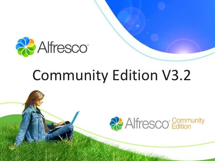 Community Edition V3.2