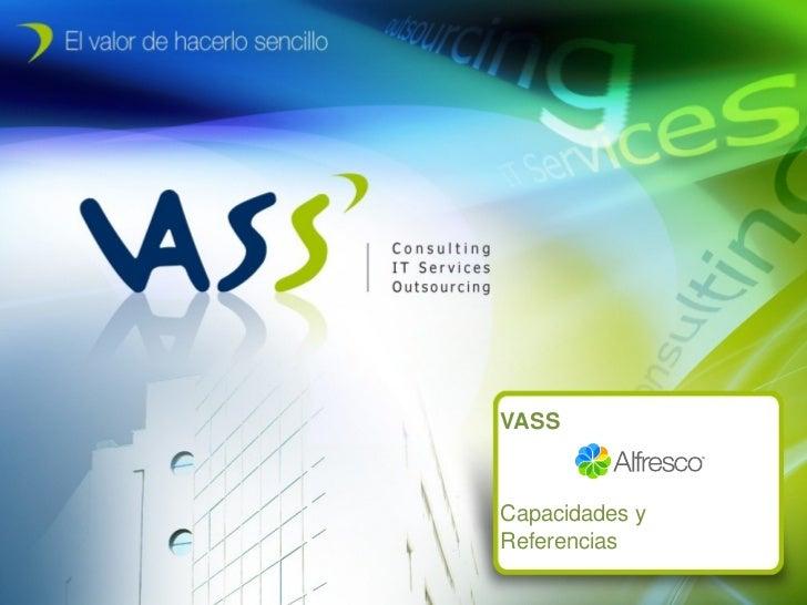 Alfresco Day Madrid - Partner - VASS