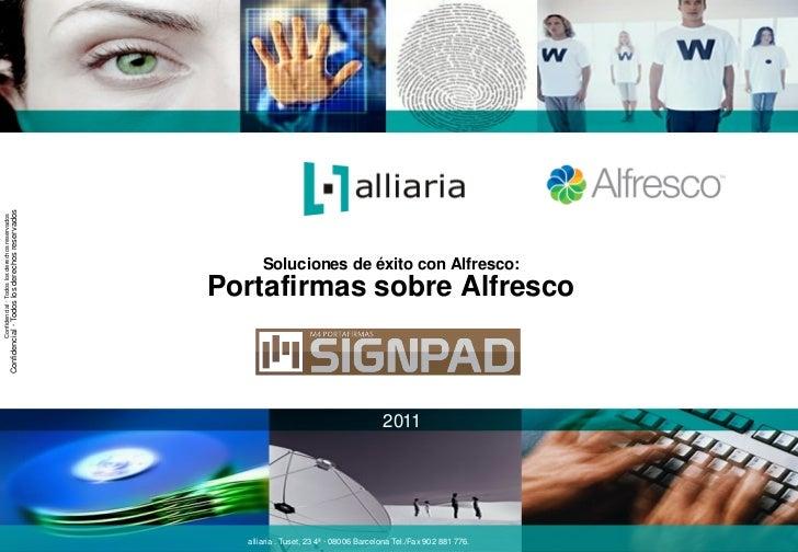Alfresco day madrid   cliente - alliaria