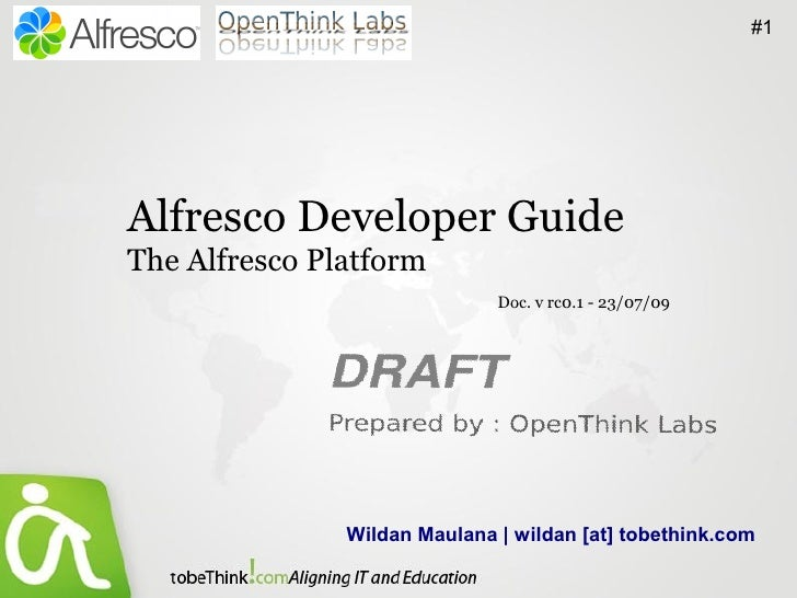 The Alfresco Platform