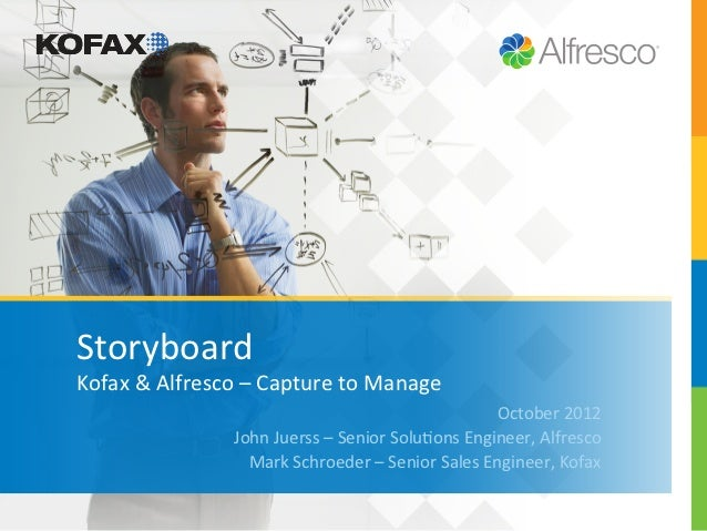 Storyboard	  Kofax	  &	  Alfresco	  –	  Capture	  to	  Manage	                                                            ...