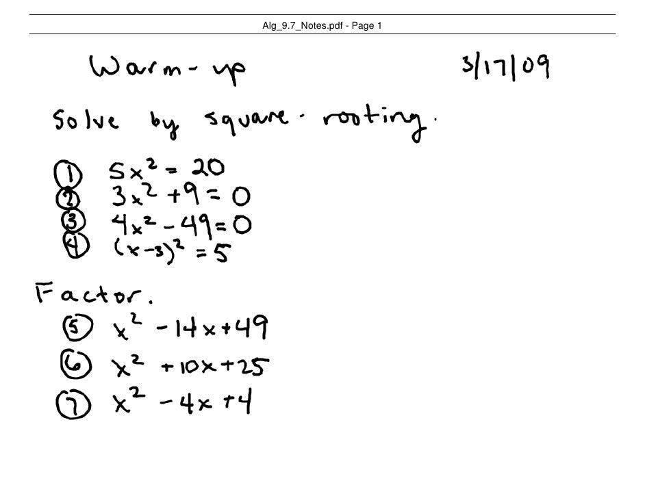 Alg_9.7_Notes.pdf - Page 1