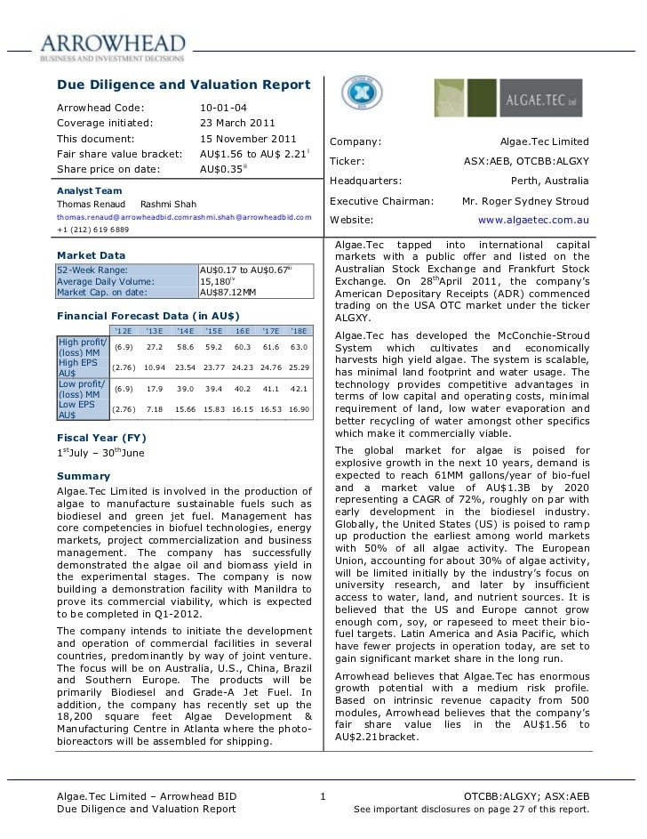 Algae.Tec   abid report - 15 nov 2011