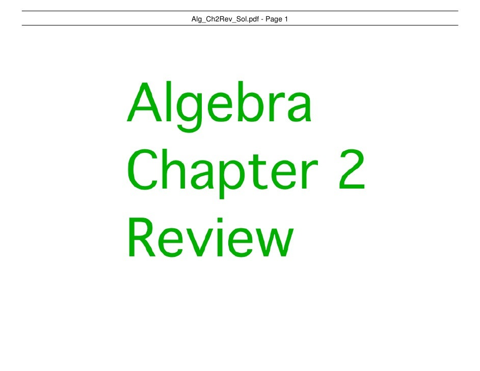 Alg_Ch2Rev_Sol.pdf - Page 1