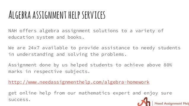 Free algebra help online