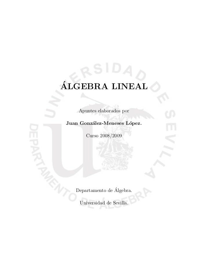 Algebra lineal 08_09