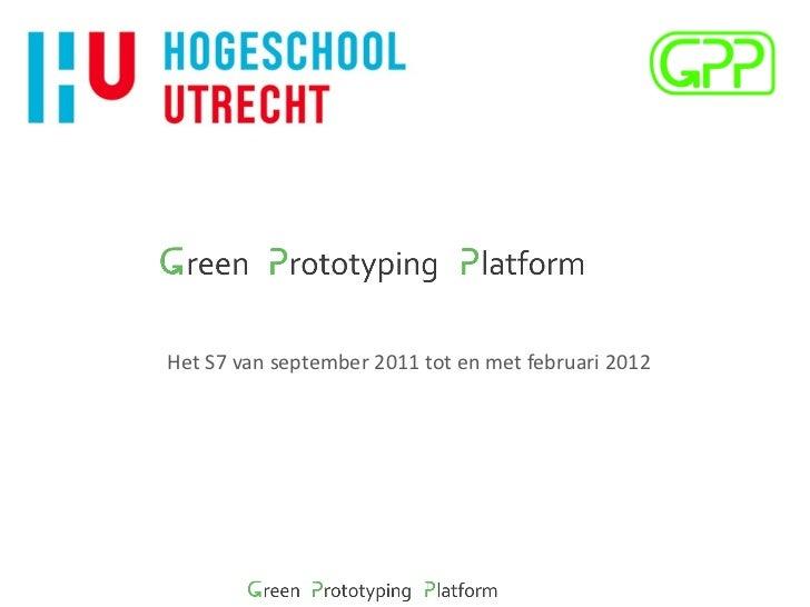 Green Prototyping Platform