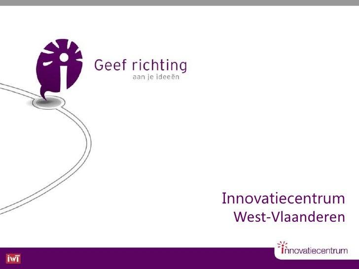 Innovatiecentrum West-Vlaanderen