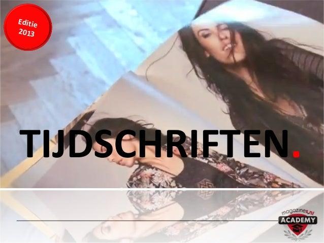 Editie2013TIJDSCHRIFTEN.