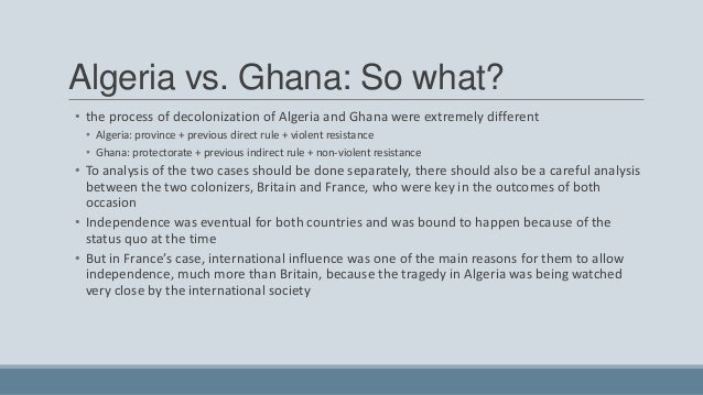 decolonization of ghana In 1844, fanti chiefs on the gold coast (as ghana was then known) signed an  agreement with the british that led to the colonial status for the.