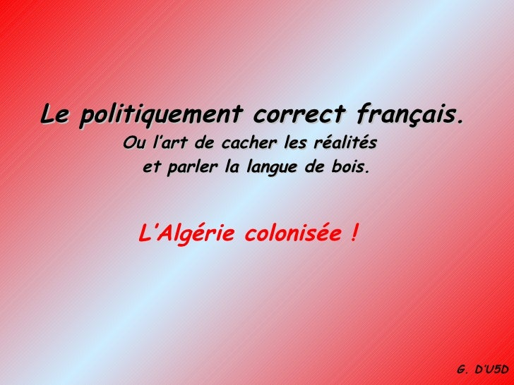 Algerie Colonisee