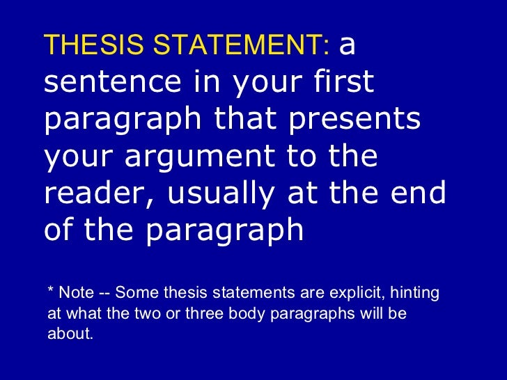more than one sentence thesis Welcome to the engagement area of the purdue owl you might identify your main point in one sentence and then identify your supporting points in a second sentence (some might call this second sentence a preview sentence) other times, your thesis statement will only be one sentence.