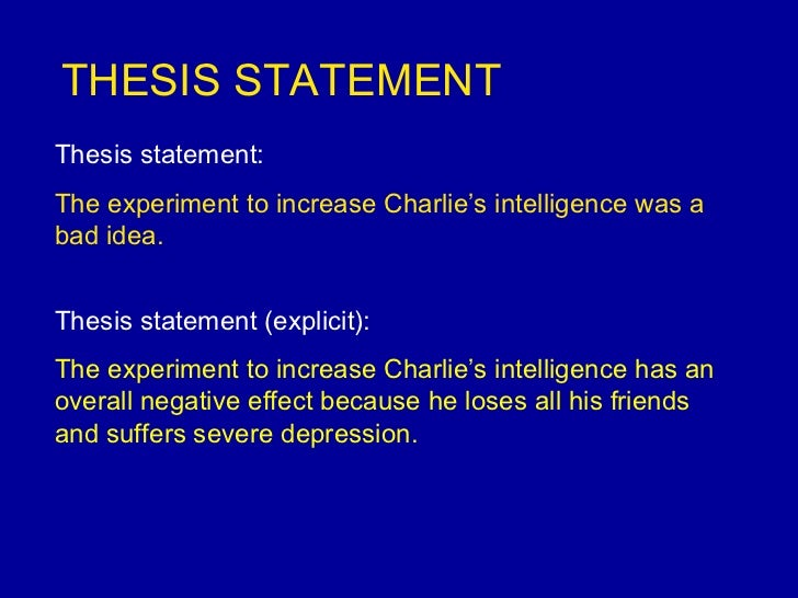 good thesis statements on depression What does a good thesis statement look like there is one as you can see, there is no universal thesis statement formula as every type of a writing assignment requires a different approach in some the feeling of uselessness and depression makes millennials search for a better place to work and live.