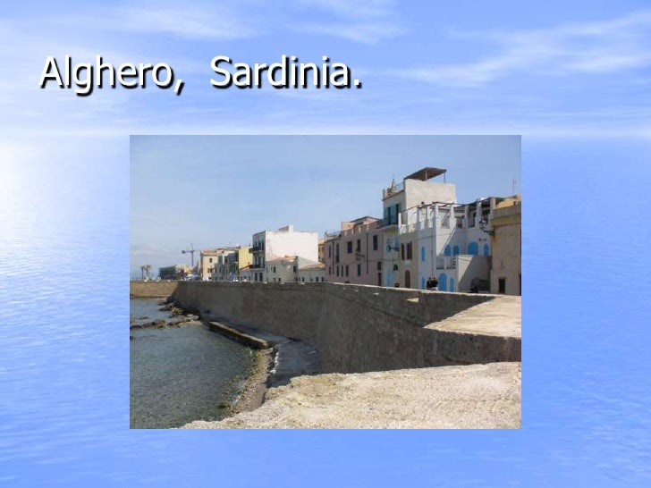 Alghero, Sardinia.