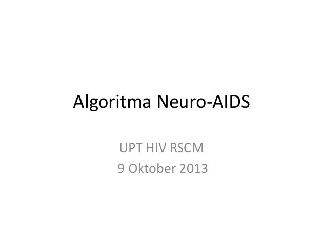 Algoritma Neuro AIDS