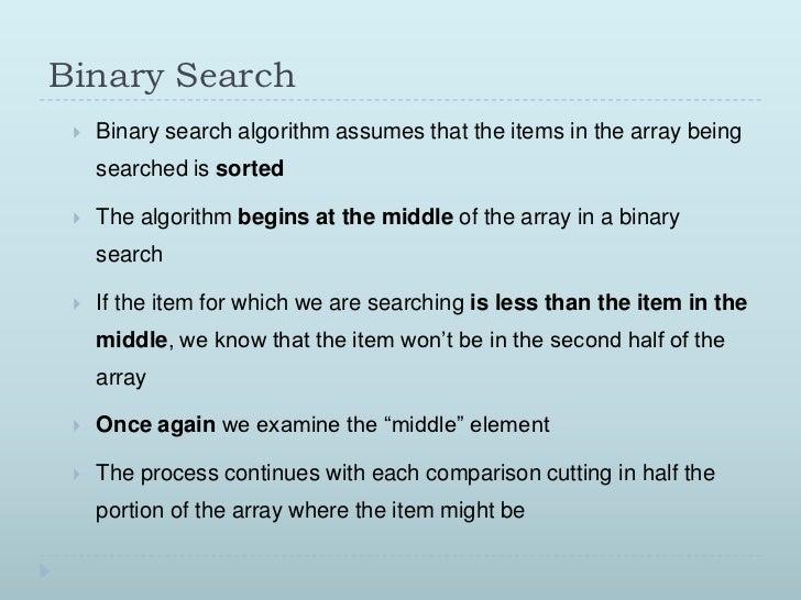 Log2 n binary search