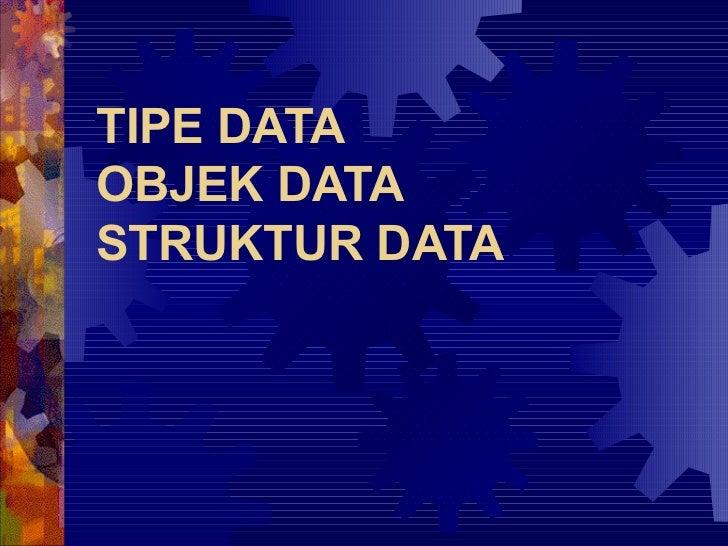 Algoritma - tipe data