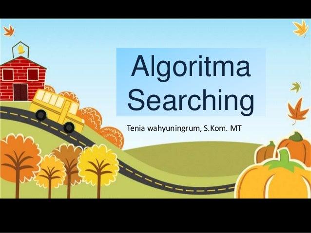 Algoritma searching