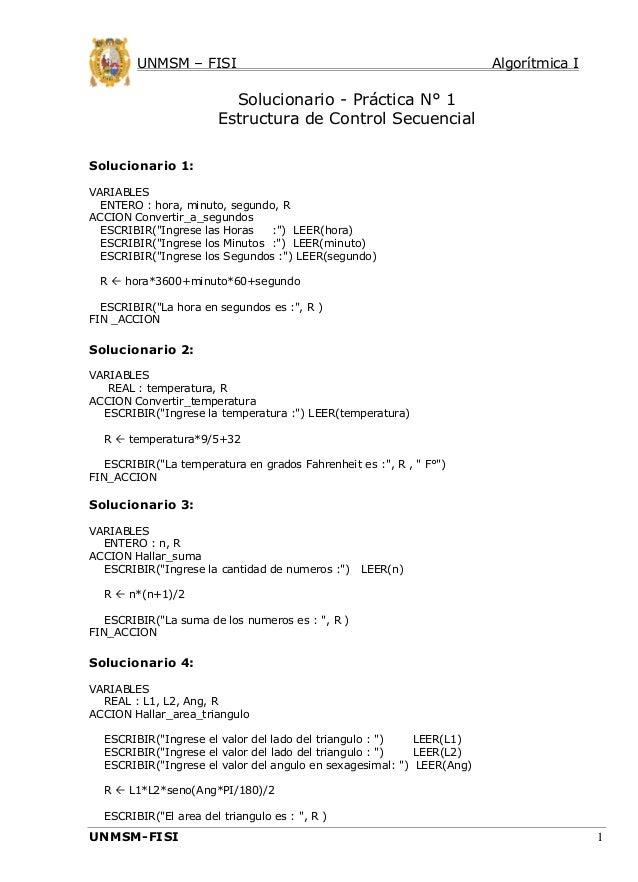 Algoritmica i clase01 practica 1 solucionario