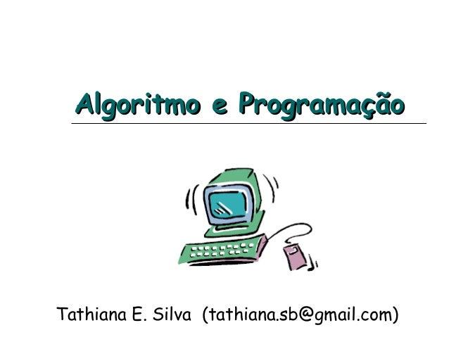 Algoritmo e programação repeticao