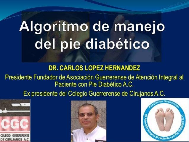 Algoritmo de Manejo del Pie Diabetico
