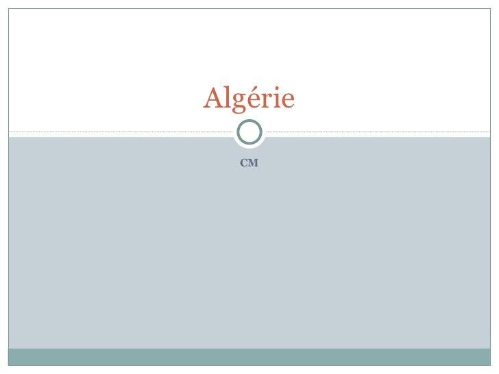 CM Algérie