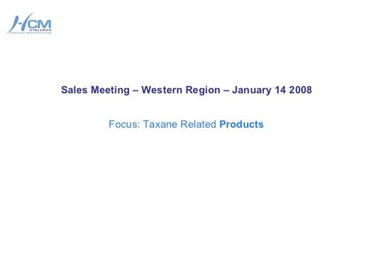 Al gunduz sales intro to 2008