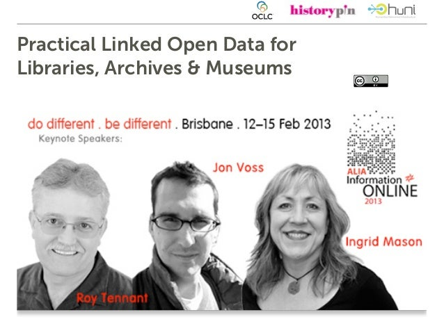 ALIAOnline Practical Linked (Open) Data for Libraries, Archives & Museums