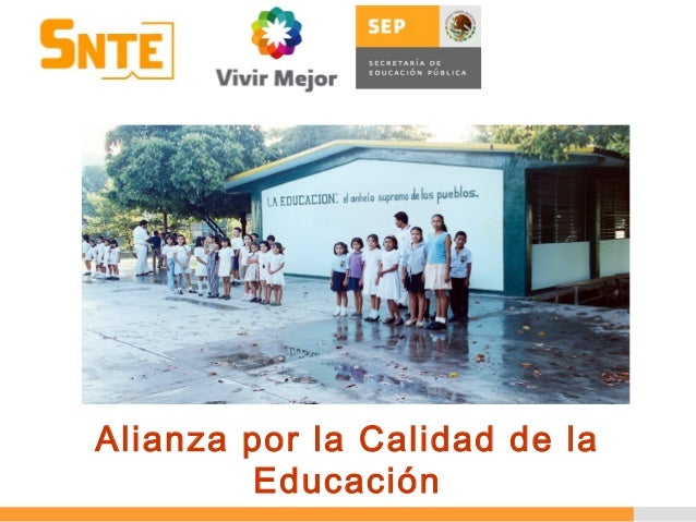 Alianza por la Calidad de la Educación