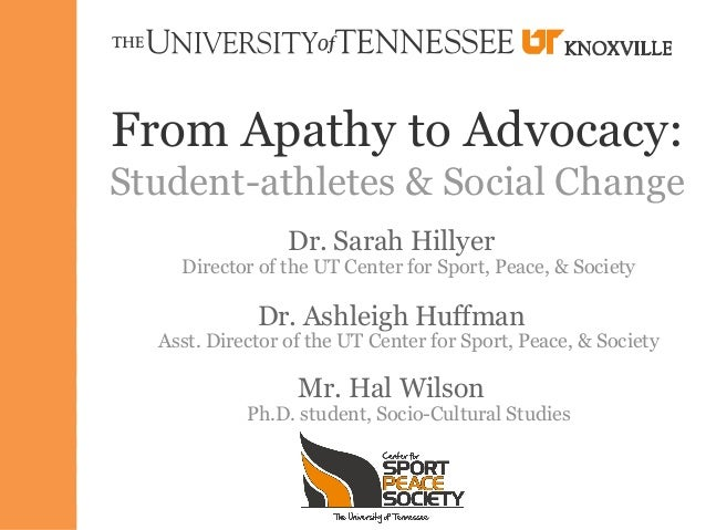 Hal Wilson - Student-Athletes & Social Change