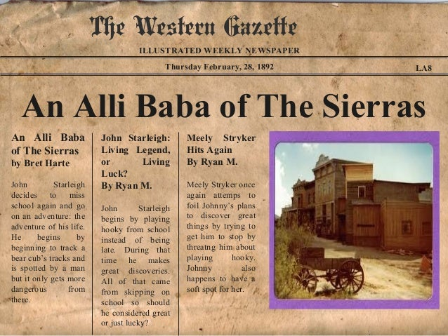 The Western Gazette                                     ILLUSTRATED WEEKLY NEWSPAPER                                      ...