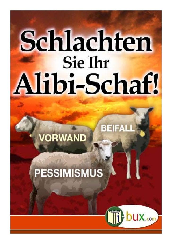 Schlachten Sie Ihr Alibi-Schaf! Autor:                    unbekannt   Genre:                    südamerikanische Erzählung...